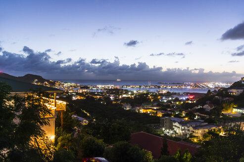 Sint Maarten at nighttime, Sint Maarten - RUNF01147