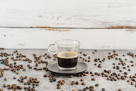 Glass of black coffee - AFVF02368