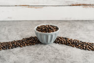 Bowl full of coffee beans - AFVF02371