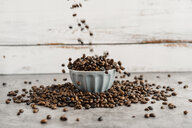 Bowl full of coffee beans - AFVF02374