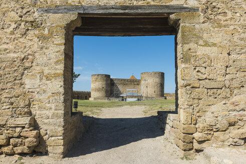 Ukraine, Bilhorod-Dnistrovskyi fortress at the Black Sea coast - RUN01202