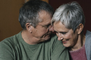 Portrait of affectionate senior couple - KNSF05540