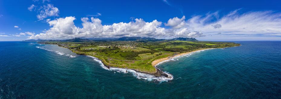 USA, Hawaii, Kauai, Kauai Multiuse Path, Kealia Beach, Aerial view - FOF10446