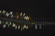 Finland, Kuopio, Aerial view of boats at the landing stage - PSIF00240