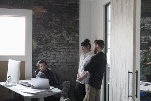 Creative business people meeting in office - HEROF23969