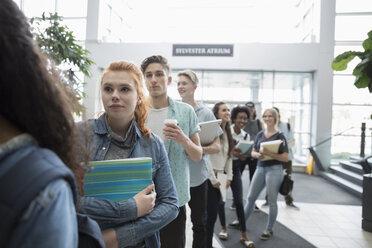 College students waiting in queue - HEROF24074