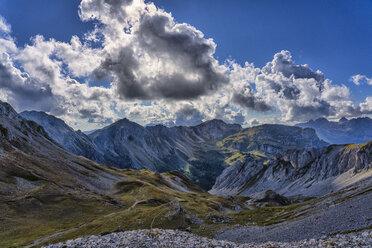 Italy, Veneto, Dolomites, San Pellegrino Pass, Alta Via Bepi Zac - LOMF00804