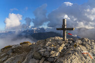 Italy, Veneto, Dolomites, Alta Via Bepi Zac, Sunset on Campagnaccia summit - LOMF00816
