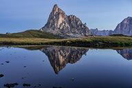 Italy, Veneto, Dolomites, Giau Pass, Gusela at sunrise - LOMF00834