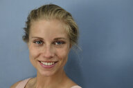Portrait of smiling young blond woman - ECPF00529