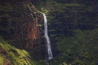 USA, Hawaii, Kaua'i, Waimea Canyon State Park, View to Waimea Canyon, Waipo'o Falls - FOF10494