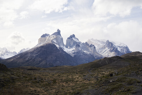 Landscape of Torres del Paine National Park, Patagonia, Chile. - IGGF00773