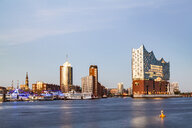 Germany, Hamburg, Elbe Philharmonic Hall and HafenCity - WDF05089