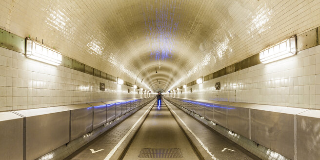 Germany, Hamburg, Old Elbe Tunnel - WDF05095