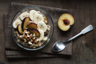 Cereals with banana and plum - EVGF03431