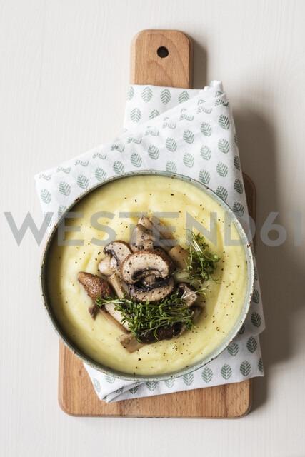Studio, Kartoffel-Sellerie-Cremesuppe mit Pilzen - EVGF03435