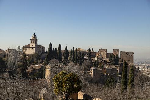 Spain, Andalusia, Granada, Alhambra - KBF00525