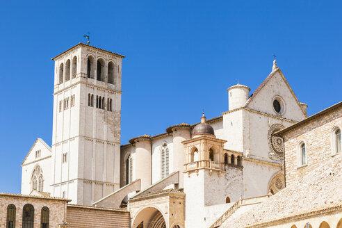 Italy, Umbria region, Perugia province, Assisi, Basilica of San Francesco d'Assisi - FLMF00145