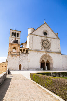 Italy, Umbria, Assisi, Basilica of Saint Francis of Assisi - FLMF00151