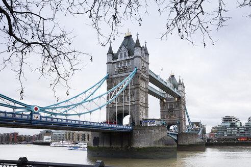 UK, London, Tower Bridge - WIF03845