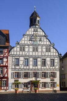 Rathaus am Marktplatz, Altstadt, Butzbach, Hessen, Deutschland - LBF02386