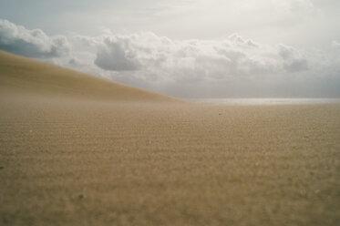 Spain, Tarifa, view from sand dune to horizon - OCMF00298