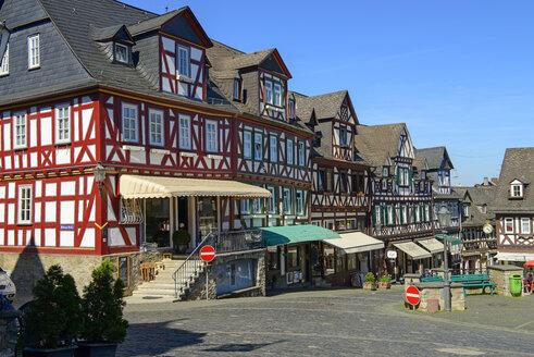 Marktplatz, Altstadt, Braunfels, Hessen, Deutschland - LBF02392