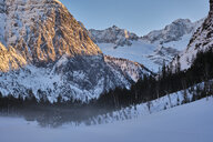 Austria, Tirol, Risstal, Karwendel, view of Hochglueckkar - MRF01920