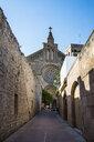 Spain, Balearic Islands, Mallorca, Alcudia, Church of St Jaume - RUNF01424
