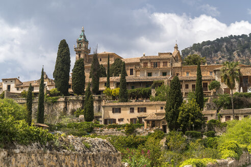 Spain, Balearic Islands, Majorca, Valldemossa, Valldemossa Charterhouse - PC00401