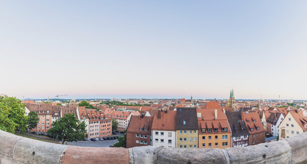 Germany, Nuremberg, Old town, cityscape in the evening light - MMAF00856
