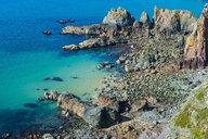 United Kingdom, Channel Islands, Alderney, Rocky west coast - RUNF01463