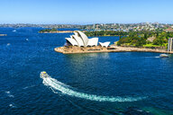 Australia, New South Wales, Sydney, landscape with The Sydney Opera - KIJ02334