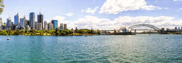 Australia, New South Wales, Sydney, panoramic of Sydney - KIJF02349