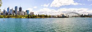 Australia, New South Wales, Sydney, panoramic of Sydney - KIJF02349