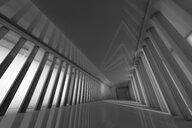 3D Rendered Illustration, Architecture visualisation of a futuristic interior - SPCF00372