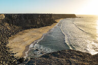 Spain, Canaray Islands, Fuerteventura, coastline - AFVF02556