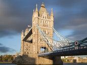 UK, London, Tower Bridge in evening sun - MKFF00444