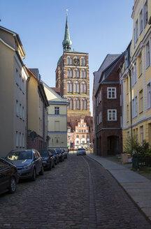 Nikolaikirche in Stralsund, UNESCO-Weltkulturerbe, Vorpommern, Mecklenburg-Vorpommern, Deutschland - MAMF00497