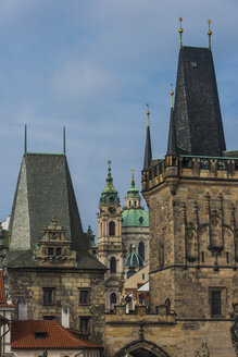 Czech Republic, Prague, the towers of the old town - RUNF01513