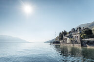 Switzerland, Ticino, Locarno, Ascona, Lake Maggiore, Paragliders - WFF00034