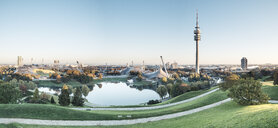 Germany, Munich, Olympic Park and Olympic Lake - WFF00044