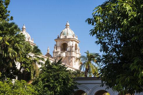 USA, California, San Diego, Balboa Park, Casa Del Prado Theater - RUNF01568