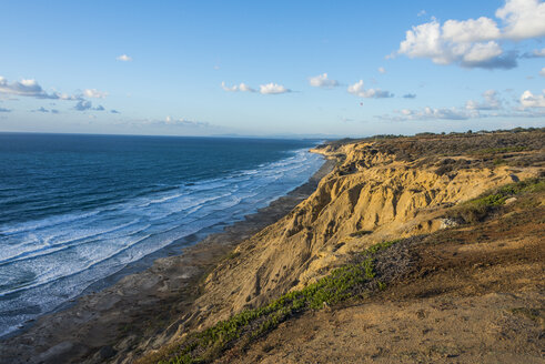 USA, California, San Diego, Cliffs of the Torrey pines gliderport - RUNF01574