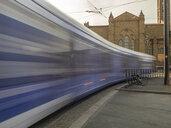 Italy, Tuscany, Florence, Santa Maria Novella, driving tramway - LAF02261