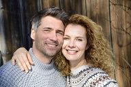 Germany, Bavaria, portrait of happy couple - ECPF00550