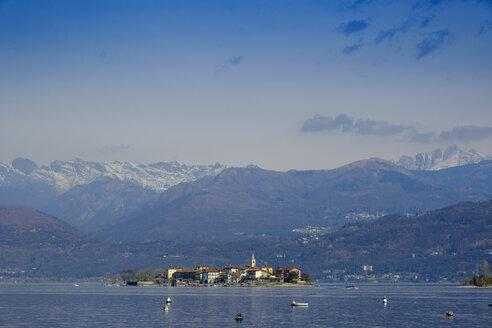 Isola Superiore,  dei Pescatori, bei Stresa, Lago Maggiore, Piemont, Italien, - LBF02462