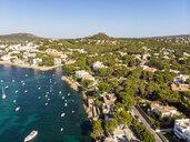Mallorca, Santa Ponca, Aerial view of bay - AMF06851