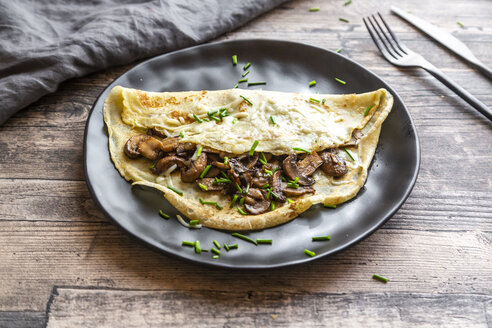 Pancakes with champignon, cheese and chive - SARF04163