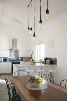 Modern kitchen with wooden table - SBOF01903